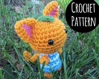 PATTERN - Crochet - Animal Crossing Cat Villager - Tangy Amigurumi.
