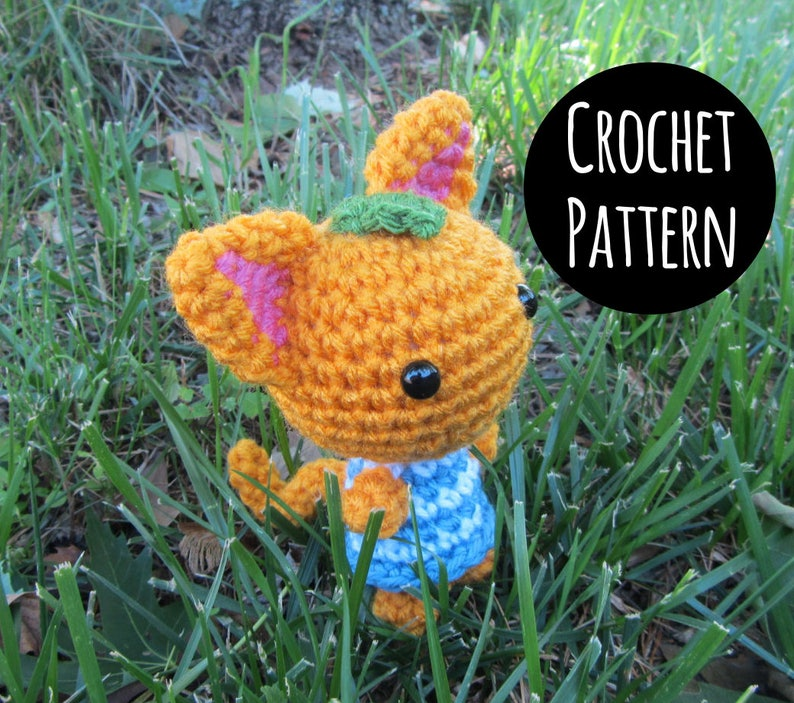 PATTERN  Crochet  Animal Crossing Cat Villager  Tangy image 0