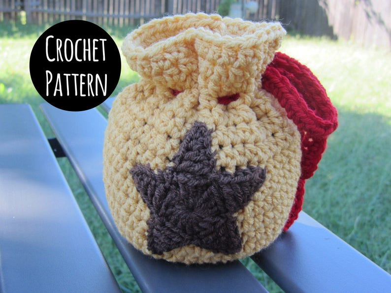 CROCHET PATTERN  Animal Crossing Crochet  Bell Bag. Animal image 0