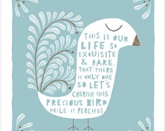 This Precious Bird - Fine Art Print