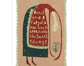 The Small Things - Fine Art Print