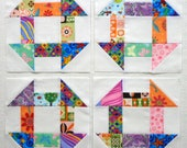 Churn Dash Quilt Blocks