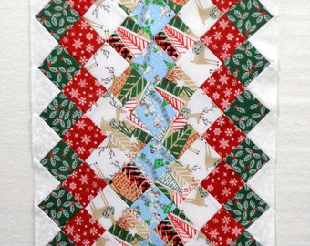Christmas Unfinished Table Runner
