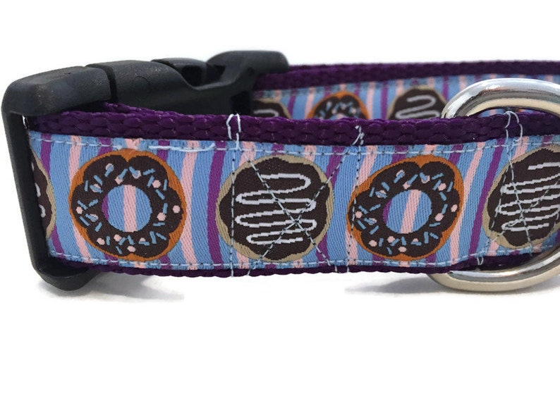 Dog Collar Donuts1 inch wide adjustable plastic quick image 0