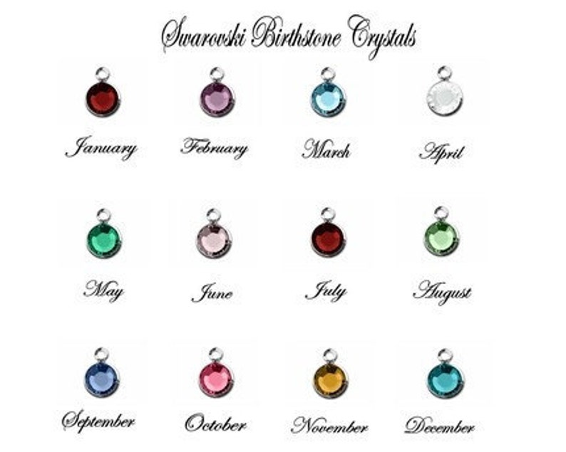 MD Medical Doctor Student Graduation Gift Handstamped Personalized Crystal Birthstone Initial Lariat Style Necklace
