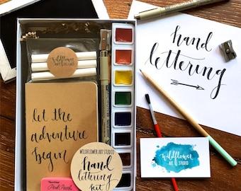 Hand Lettering Kit - Award-Winning Starter Set Beginning Hand Lettering