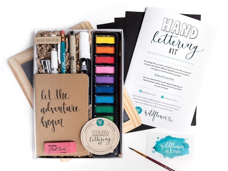 Hand Lettering Kit  Award-Winning Starter Set Beginning Hand image 0