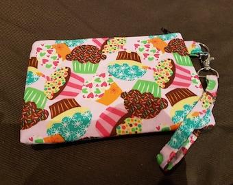 Cute Cupcakes Wristlet