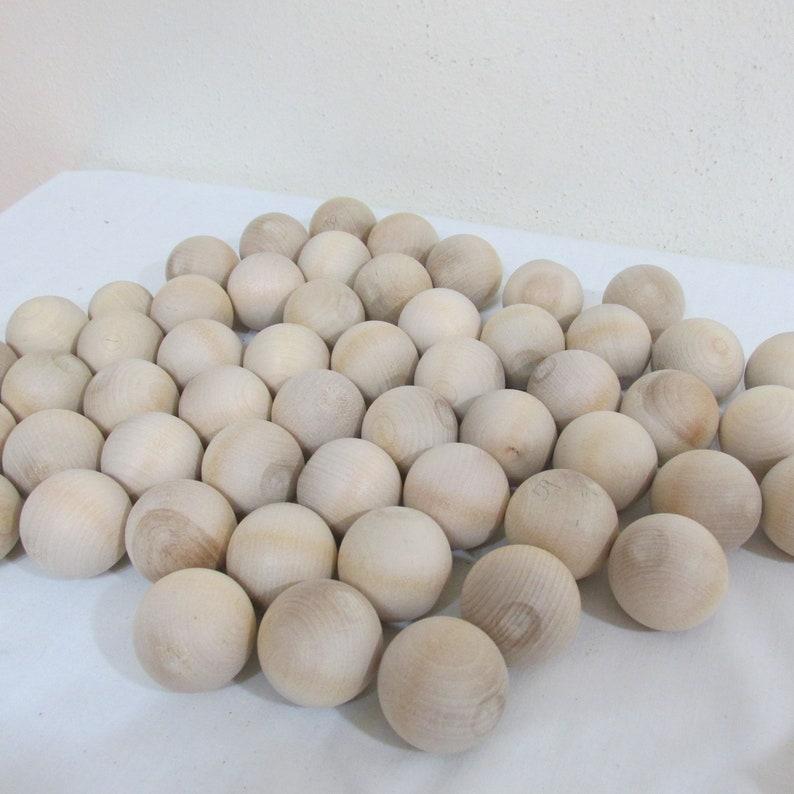 Wood Ball Craft Supply 52 at 1 14 Inch