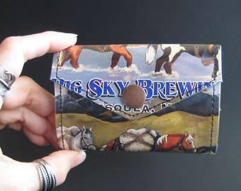 Big Sky Pack Train Small Snap Wallet