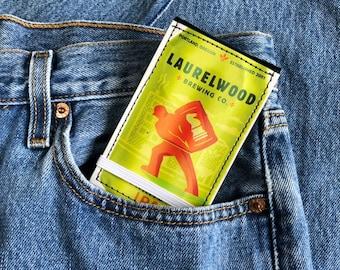 Laurelwood Workhorse Front Pocket Beer Wallet