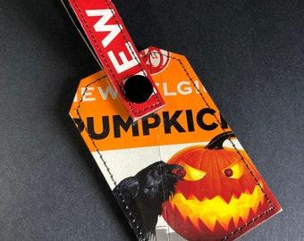 New Belgium Pumpkick Luggage Tag