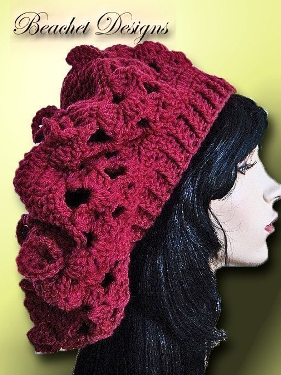 Crochet Slouchy Hat Pattern Slouch Hat Dreadlocks Pattern  c43d23d7186