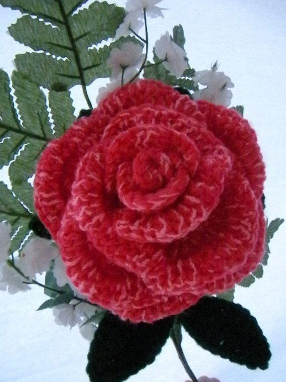 Crochet Rose Flower Pattern Crochet Flowers Crochet Roses Pattern