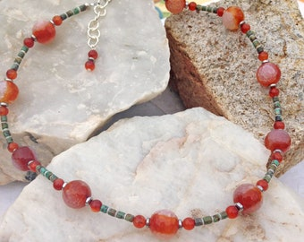 Colors of Sunset Necklace