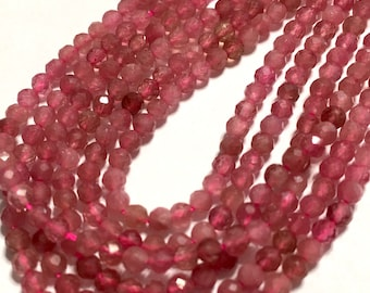 Beautiful Gemstones for Making Jewelry S-Ap1 13 inch Strand 2.5mm Beautiful Apatite Beads Small Faceted Rounds 2.2mm