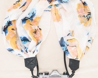 The Camera Strap Scarf The Nora