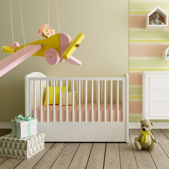 Flying Bee Baby Girl Wooden Mobile Bee Nursery Decor Crib Nursery Mobile Baby Girl Shower Gift Christmas Gift for Grandkids