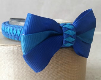 Blue Cat Collar and Bow Tie Set