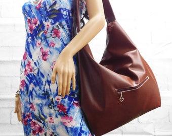 Chestnut Brown Hobo bag 446f57d9e65fa