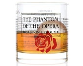 Phantom of the Opera - Literature Rocks Glass