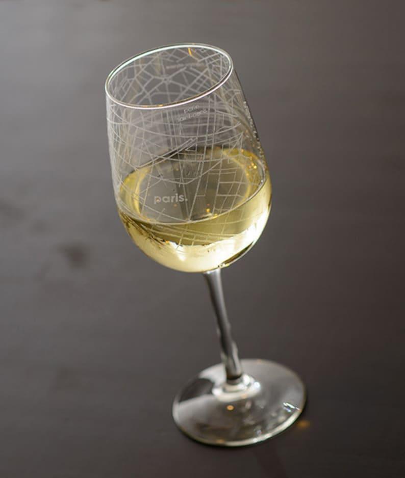 New York Subway Map Drinking Glass 16oz.Paris Map Wine Glass Gift