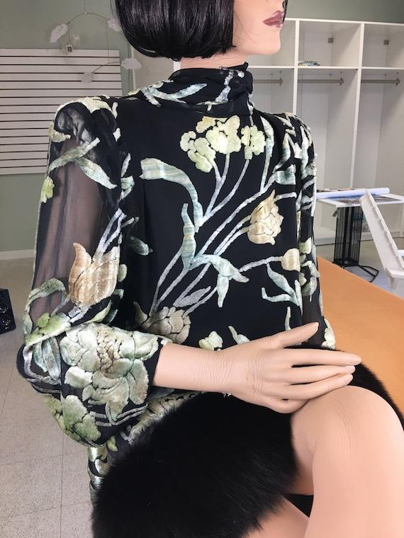 Pauline Trigere 1980's Dress - image 2