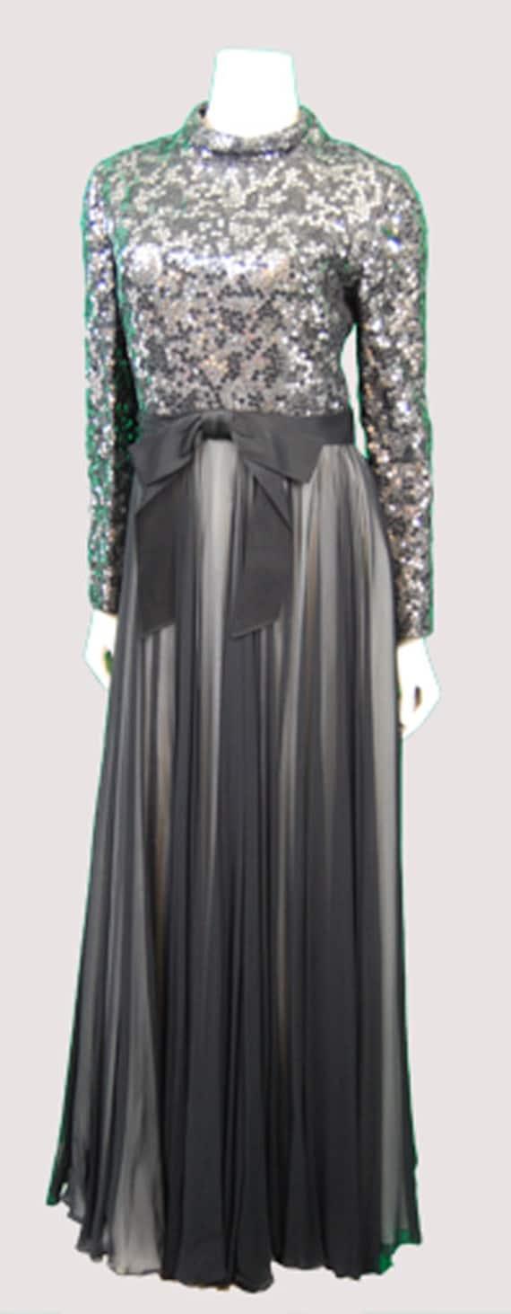 1970's Pat Sandler Evening Dress