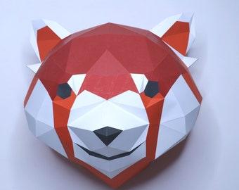 3D Origami - Raccoon http://handcraftpinterest.blogspot.com ... | 270x340