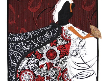 Spanish Dancer Art Quilt