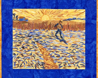 The Sower a la Van Gogh