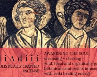 Incense, Awakening the Soul: holistically crafted for cleansing and clearing