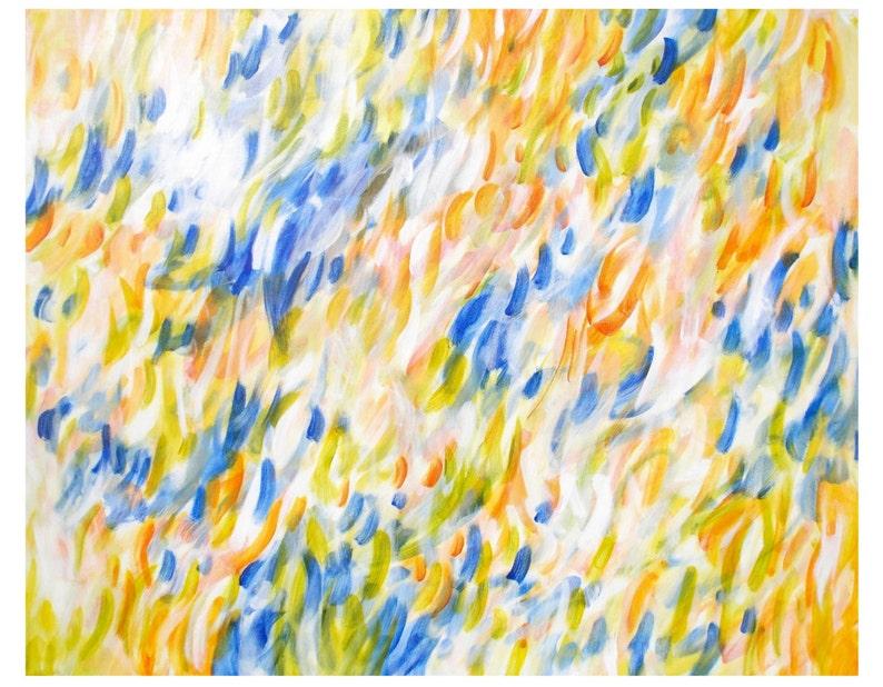 Large Wall Art  Original Abstract Painting  Abstract image 0