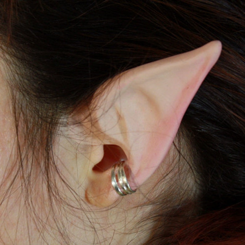 Elf Ears: Nomad Elf -- handmade, latex ear tips, great for cosplay,  costumes, Halloween, Christmas