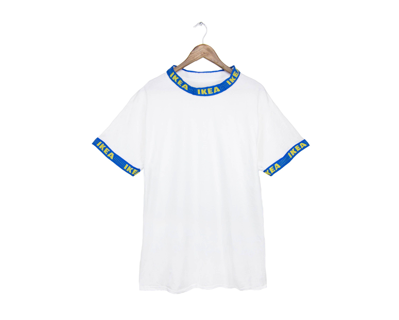 FRAKTee IKEA Frakta T-shirt Stehkragen Hemd Ikea Ringer