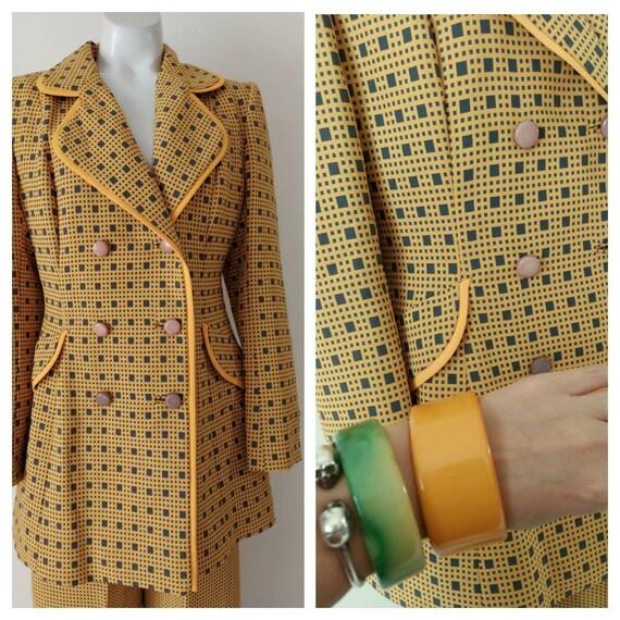 Vintage LILLI ANN suit / 60s 70s  blazer jacket a… - image 2