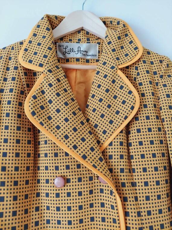 Vintage LILLI ANN suit / 60s 70s  blazer jacket a… - image 6