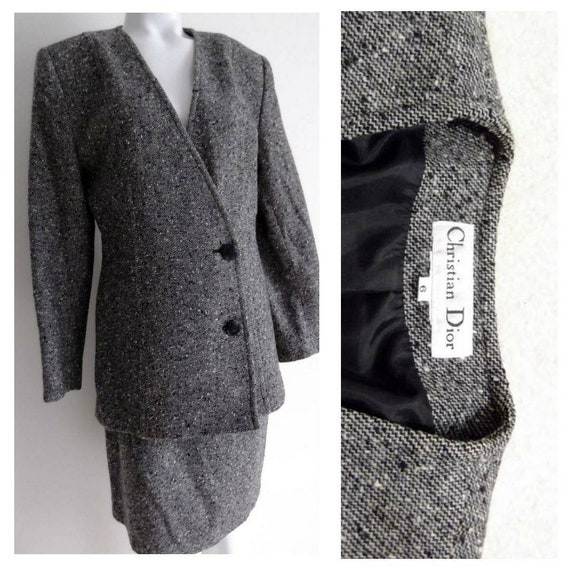 vintage DIOR suit / Vintage Christian Dior Ladies