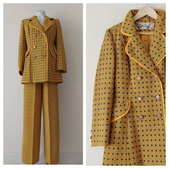 Vintage LILLI ANN suit / 60s 70s  blazer jacket a… - image 1