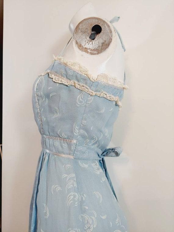 vintage Candi Jones dress  / 70s boho dress / gun… - image 7