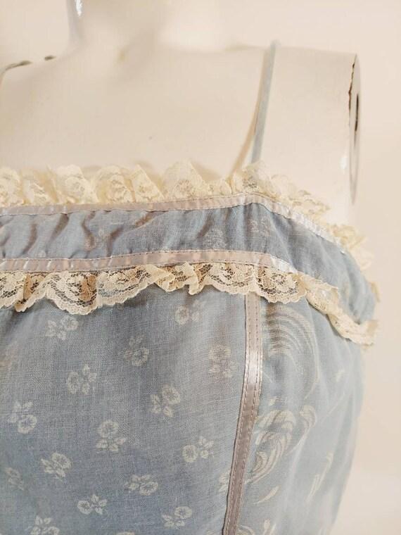 vintage Candi Jones dress  / 70s boho dress / gun… - image 3