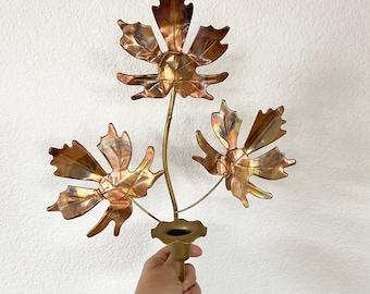 Decorative charm Lead-free 26.5x10.9mm Laurel leaf pendant LAST STOCK 1.4mm thick P2-R5 Matte gold plated tin alloy 2 pcs