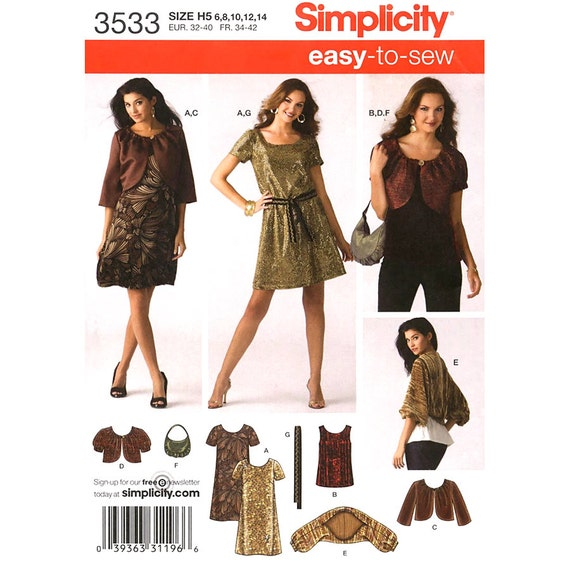 Neckholder Kleid Muster oben Jacke Achselzucken Einfachheit