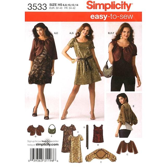 Neckholder Kleid Muster oben Jacke Achselzucken Einfachheit | Etsy