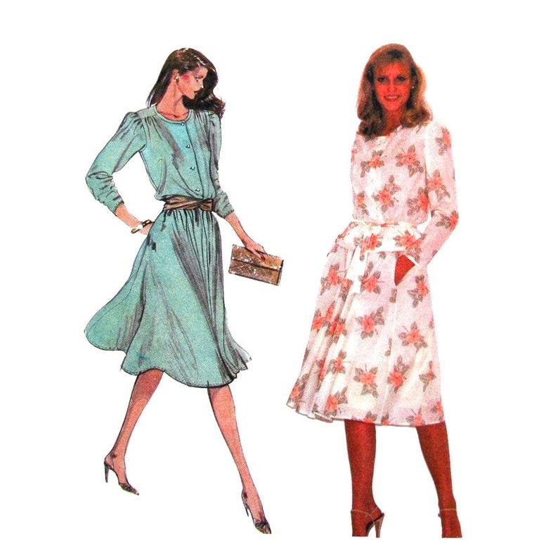 Peplum Blouse   Skirt Pattern McCalls 7405 Womens Size 12 14  1f35a7d0f
