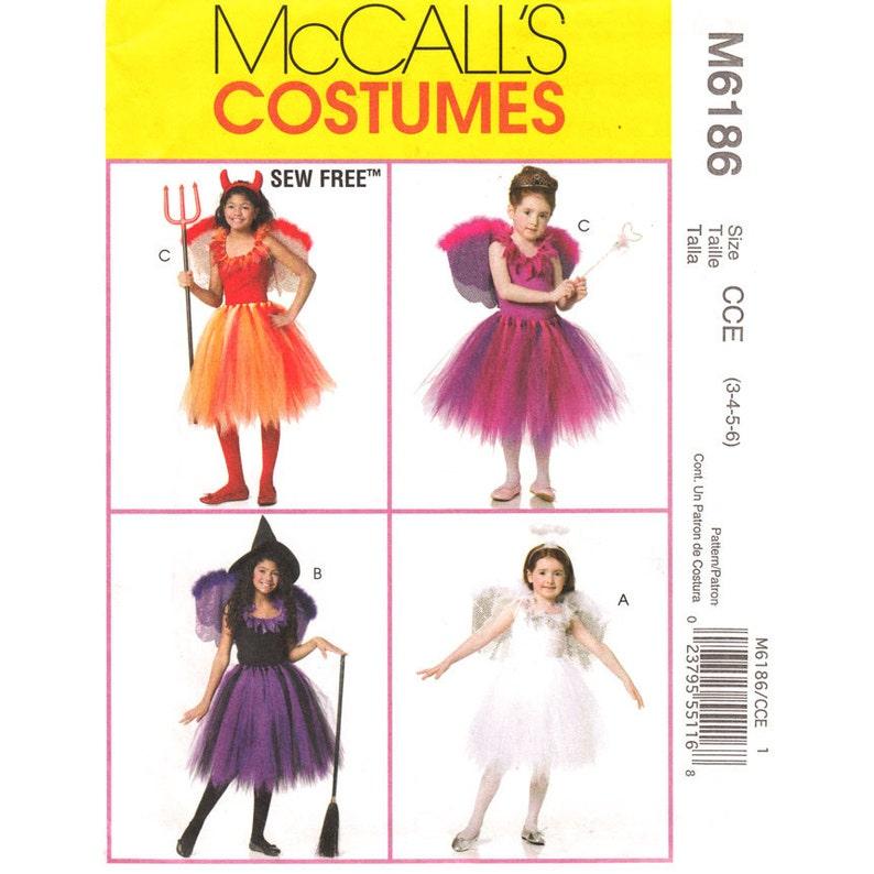 Tänzerin Flügel Mädchen Tutu Oberen 6 Bis Ungeschnitten Schnittmuster 3 Nähen Größe Kostenlose 6186 Kostüm Muster Mccalls 7y6fYgb