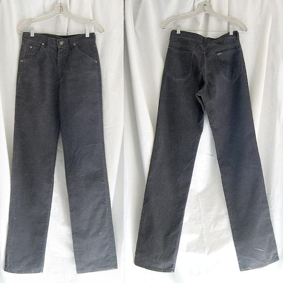 Vintage Lee Riders Black Corduroy Jeans