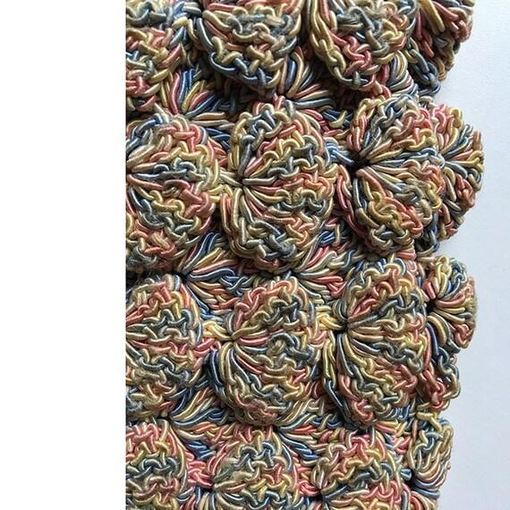 Vintage Shell Crochet Purse - image 6