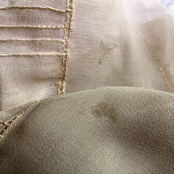 Antique Blouse Chiffon and Lace - image 5