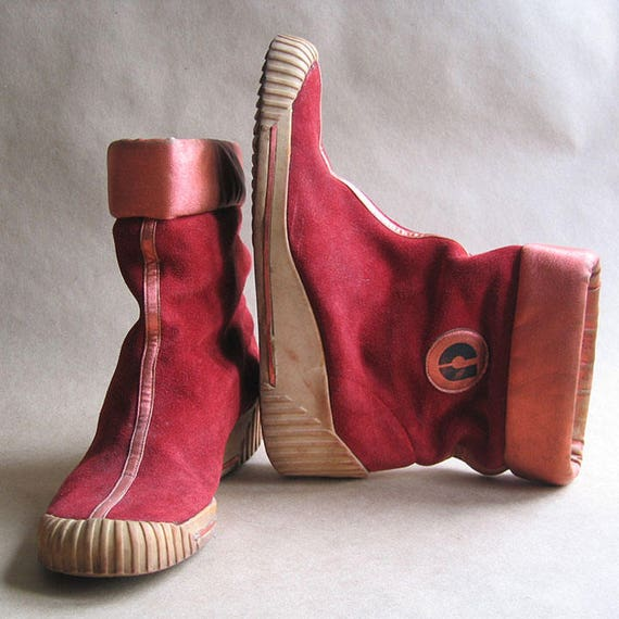 Vintage Charles Jourdan Boots 1970's